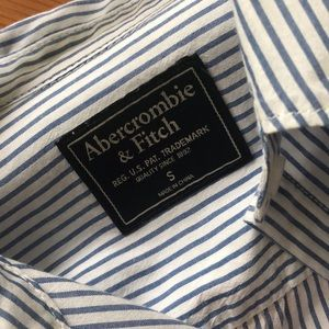 Abercrombie & Fitch Tops - Abercrombie and Fitch Striped Button Down